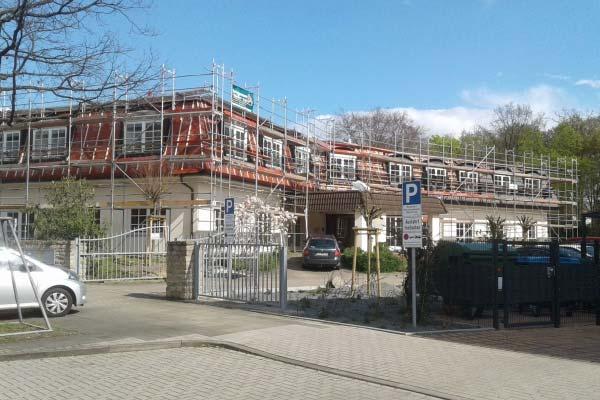 Prace remontowe w Hanowerze, Hildesheimerstr. (Niemcy)