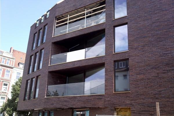 Fasada klinkierowa budynku biurowego w Hannowerze (Niemcy)