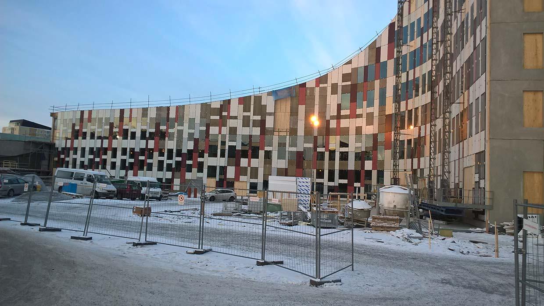 Roboty ogólnobudowlane oraz karton gipsy, roboty żelbetowe, ciesielskie i wykończeniowe w Luleå (Szwecja)