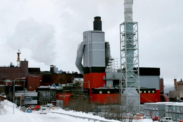 Budowa filtra powietrza, prace montażowe, żelbetowe, wykończeniowe dla kombinatu górniczego LKAB w Malmberget (Szwecja)