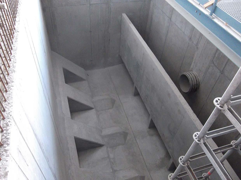 Budowa pompowni wody w Svappavaara (Szwecja)