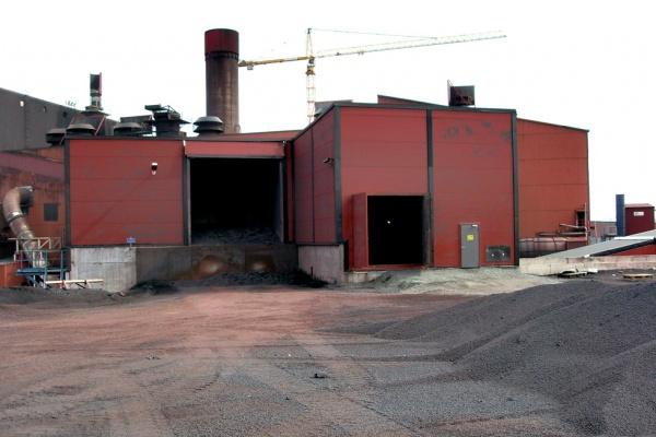 Budowa obiektu przemysłowego – stan surowy i wykończeniowy w Svappavaara (Szwecja)