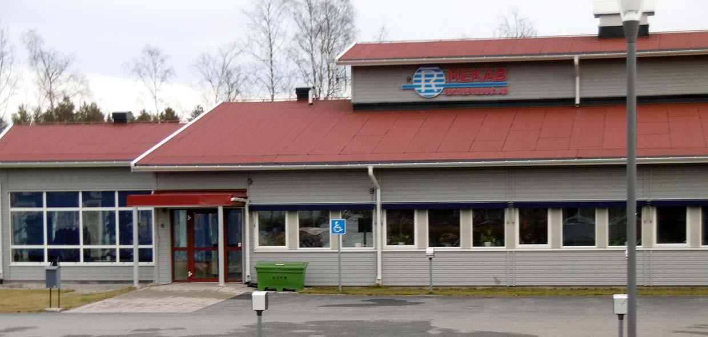 Budowa budynku biurowego z garażem w Umeå (Szwecja)